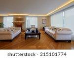 interior design  big modern... | Shutterstock . vector #215101774