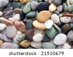 pebble stones background | Shutterstock . vector #21510679