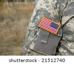 Us Army Uniform Patch Flag