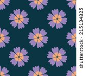 pattern flower background 3 | Shutterstock .eps vector #215134825