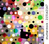 abstract geometric pattern...   Shutterstock .eps vector #215162167