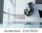 business team working on report ...   Shutterstock . vector #215170225