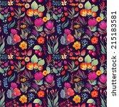 Flowers Seamless Pattern...