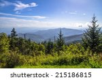 view from the summit of... | Shutterstock . vector #215186815