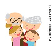 illustration  for grandparents' ...   Shutterstock .eps vector #215190544