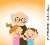 illustration  for grandparents' ...   Shutterstock .eps vector #215193637