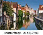 Scenery With Water Canal In...