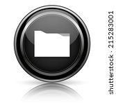 black shiny icon on white... | Shutterstock . vector #215283001