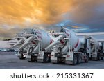 Cement Mixers Car With...