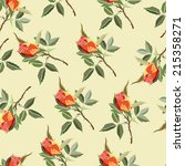 seamless pattern with colored... | Shutterstock .eps vector #215358271