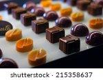 delicious chocolates | Shutterstock . vector #215358637