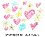 Child Drawing Of Valentine\'s...