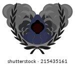 laurel wreath  street gang logo....