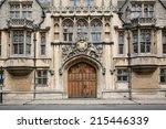 oxford university  brasenose... | Shutterstock . vector #215446339