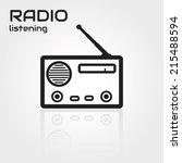 radio | Shutterstock .eps vector #215488594