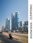 dubai  uae    6 march  2014 ... | Shutterstock . vector #215493361