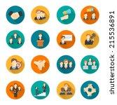 teamwork corporate organization ... | Shutterstock .eps vector #215536891