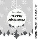 christmas background | Shutterstock .eps vector #215556049