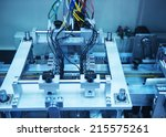 robotic control system | Shutterstock . vector #215575261