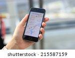 minsk  belarus   august 17 ... | Shutterstock . vector #215587159