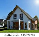 family house | Shutterstock . vector #215599789