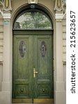 Historical Ornate Wooden Door...