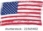 grunge usa flag | Shutterstock .eps vector #21565402