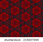 seamless pattern composed of... | Shutterstock .eps vector #215657344