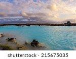 Geothermal Pool In Blue Lagoon...