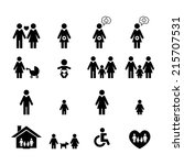 family icon | Shutterstock .eps vector #215707531