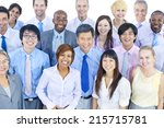 large group of business people | Shutterstock . vector #215715781