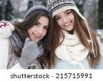 girls just wanna have fun  | Shutterstock . vector #215715991