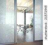 meeting room | Shutterstock . vector #21572545
