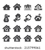 house icon | Shutterstock .eps vector #215799061
