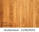 vector wood plank background | Shutterstock .eps vector #215829055