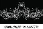 ornamental border  frame....   Shutterstock .eps vector #215829949