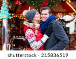 man and woman or  a couple  or... | Shutterstock . vector #215836519