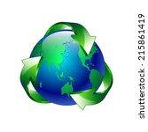 vector illustration isolated of ... | Shutterstock .eps vector #215861419