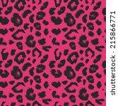 pattern leopard   Shutterstock .eps vector #215866771