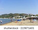 iraklitsa  kavala  august 10 ... | Shutterstock . vector #215871601