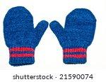 two child gloves | Shutterstock . vector #21590074