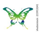 butterflies design | Shutterstock .eps vector #215913241