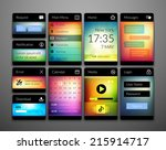 mobile interface elements with...