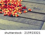 Halloween Candy Corn In Pile...