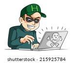 hacker | Shutterstock .eps vector #215925784
