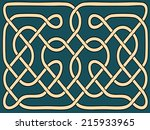 abstract celtic ornament | Shutterstock .eps vector #215933965