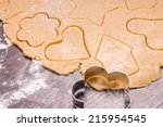 Cutting Christmas Gingerbread...