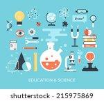 abstract flat vector... | Shutterstock .eps vector #215975869