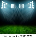 light of stadium | Shutterstock . vector #215995771