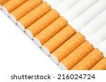 closeup of filter tipped...   Shutterstock . vector #216024724